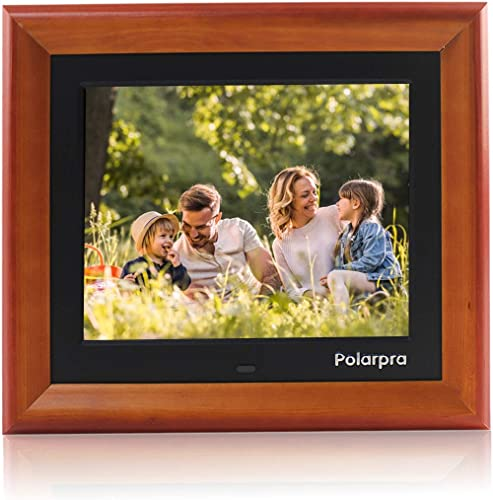 Digital Picture Frames,8 Inch Digital Photo Frame Wooden Dressed HD 800×600 4:3 LCD Widescreen