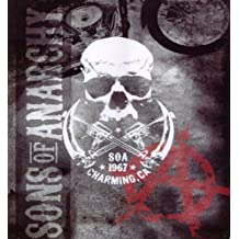 Sons Of Anarchy Charming,CA 1967 Blanket- SOA Merchandise is Perfect for Home Decor, Gifts, Accessories, Memorabilia, Collectables-This is a Soft, Plush, Thick, Queen/Full Size Mink Blanket-THIS IS NOT A CHEAPLY MADE FLEECE THROW-Life Time Guarantee