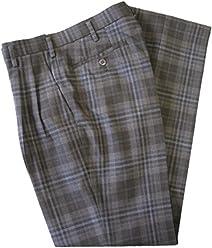 KURI-ORI[クリオリ] スリーシーズンスラックスKRB11S2 グレー濃淡チェック スリムシルエットW91 seifuku pants