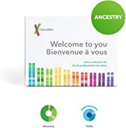 23andMe Ancestry + Traits Service: Personal Genetic DNA Test with 1500+ Geographic Regions, Family Tree, DNA Relative Finder,