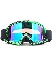 17c17c4ae0 Lorenlli Motociclista Rider Wear X600 Gafas Protectoras de Motocross para  el esquí Gafas para Esquiar en