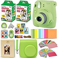 Fujifilm Instax Mini 9 Instant Camera Lime Green + Fuji...