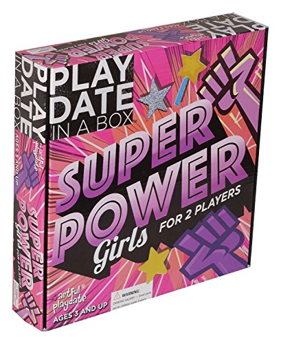 Artful Playdate Superpower Girls Playdate in a Box