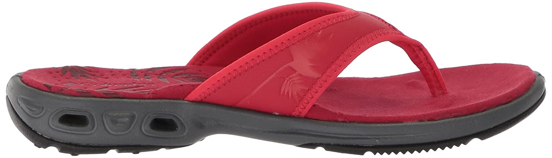 Columbia Women's Kambi Vent Sandal B073RNQDLJ 5 B(M) US Candy Apple, Red Camellia