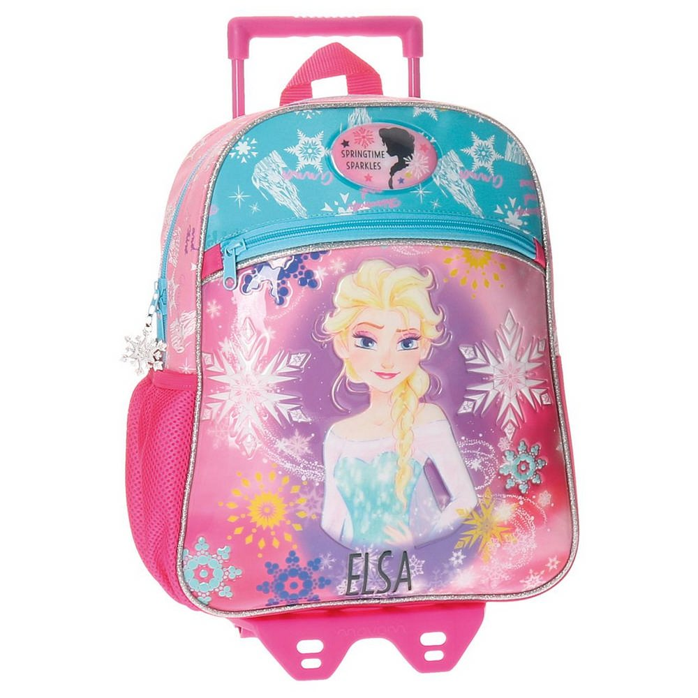 Kindergartenrucksack mit Trolley Frozen Elsa Disney