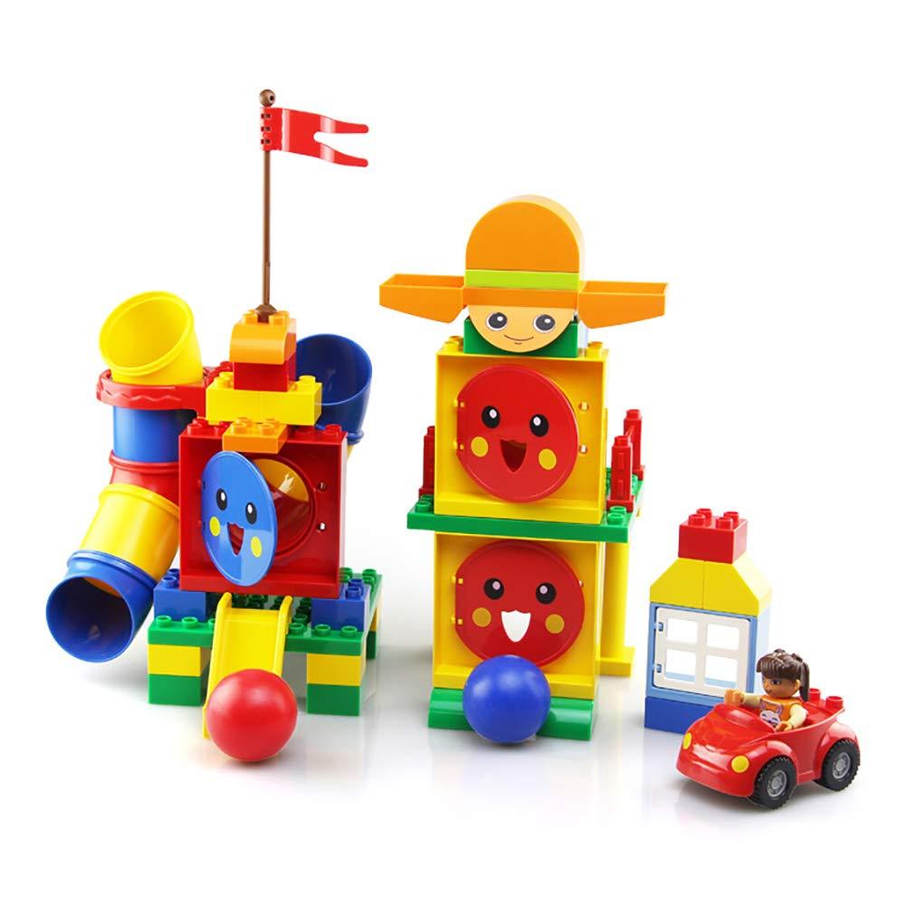 3fbfc5fc08e2 SU para niños de construcción Juguetes 1-6 años Asamblea Puzzle Ilumine  Interacción Entre Padres e Hijos Pipas Bloques nvymoq95-Juguete de moda