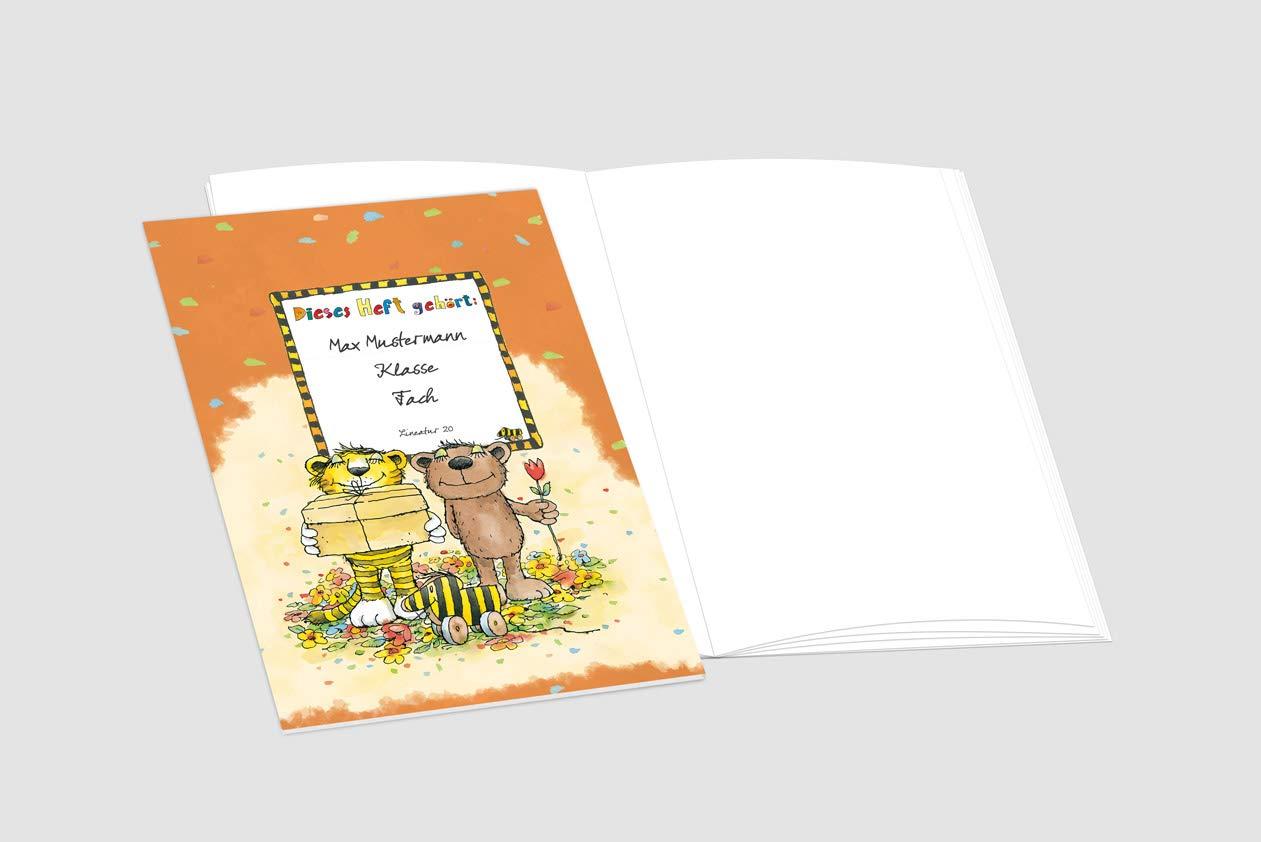 24 lustige JANOSCH-Schulhefte A4, »Geheimnisvolles Geschenk«, Lineatur Lineatur Lineatur 1, Frühlingsgrün, personalisierbar, 32 Seiten B075XLTFS6   Günstige Preise    München    Bekannt für seine gute Qualität  401482
