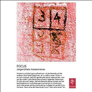 Fokus. Zielgerichtete Konzentration Hörbuch