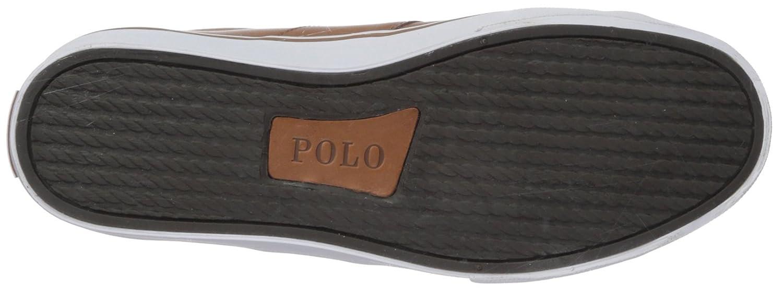 Ralph Lauren Tan Herren Sayer Leder Polo Tan Lauren Schuhe 42.5 EU ebe350