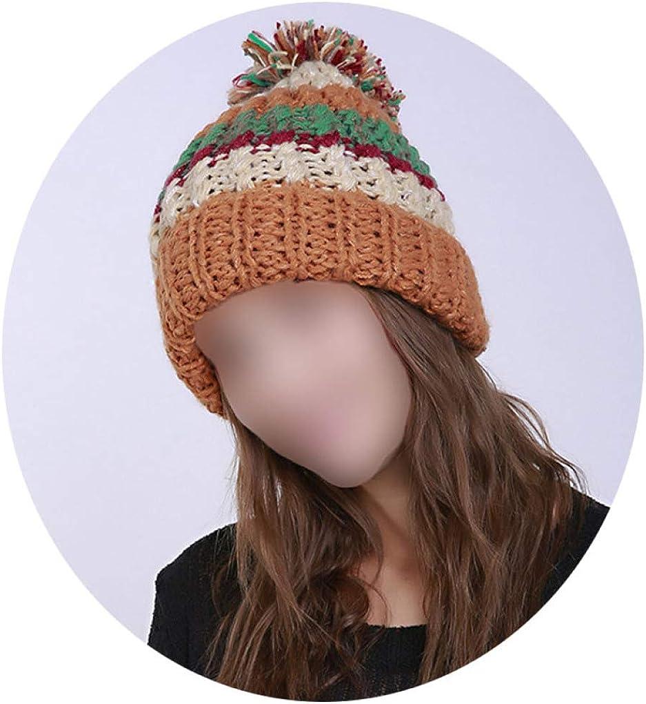 Striped Knitting Hats...