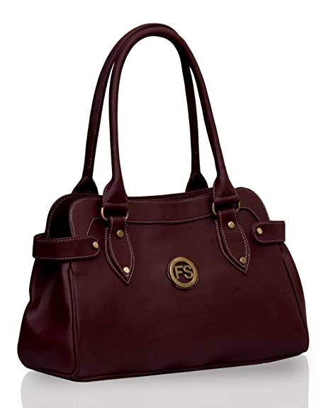 56ceb06c37 Fostelo Women s Jessy Stylish Handbag (Maroon) (FSB-391)  Amazon.in  Shoes    Handbags