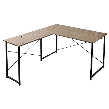 WOLTU TSB12hei Eckschreibtisch Schreibtisch Computertisch Büromöbel ...