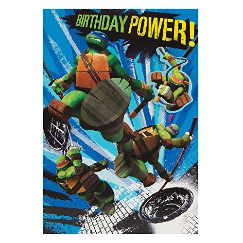 Hallmark Teenage Mutant Ninja Turtles Birthday Card Awesome Day
