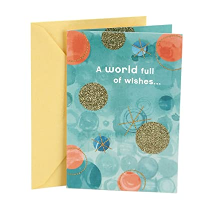 Hallmark Birthday Greeting Card For Her Confetti Circles