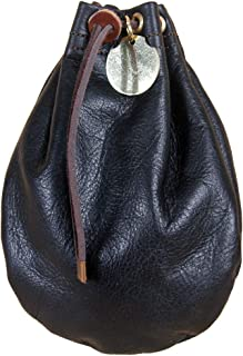 product image for Col. Littleton Leather Possibles Pouch   Made in USA   Black, Medium