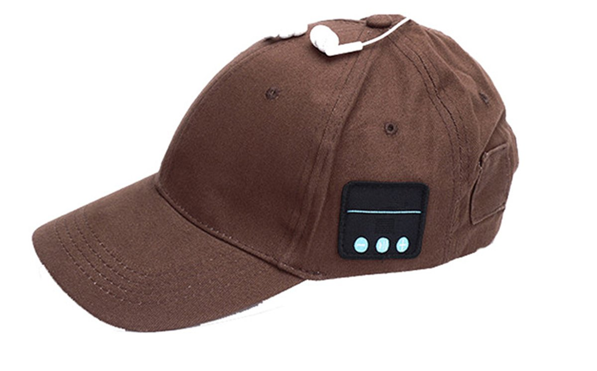 Bluetooth Baseball Cap with Mic Answer Phone,Topoint Bluetooth In-ear Headset Music Hat Sports Cap Sun Hat for Men Women