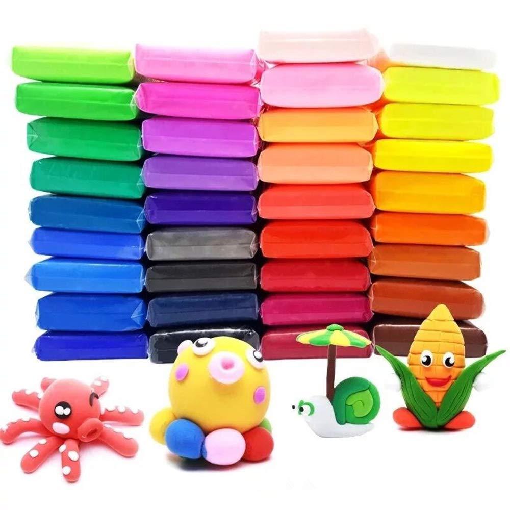 【正規逆輸入品】 Slime Toy パーティー用 空気乾燥粘土 Toy | DIY 36色 超軽量モデリング粘土 おもちゃ 子供 女の子 男の子 女の子 パーティー用 | マジッククラフトキット ツール付き B07NVDJ2DJ, Vie Shop:3c7597f9 --- pmod.ru