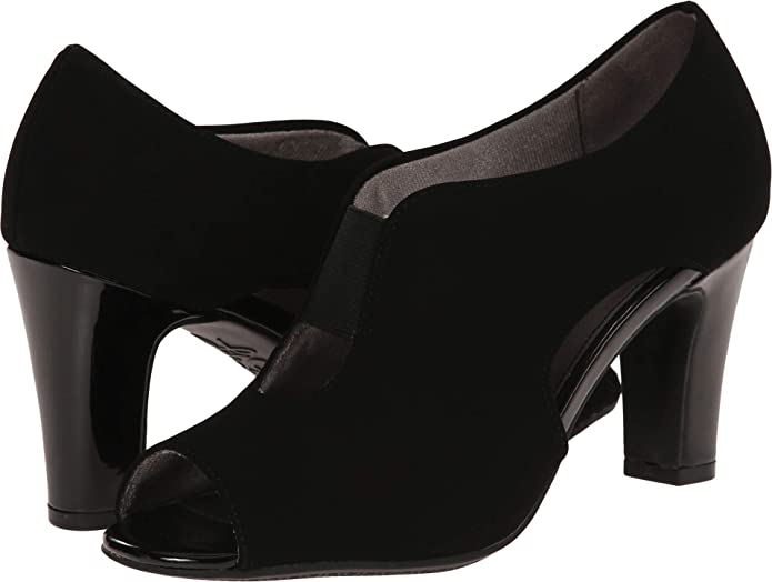 Womens Life Stride Carla Open Toe Bootie