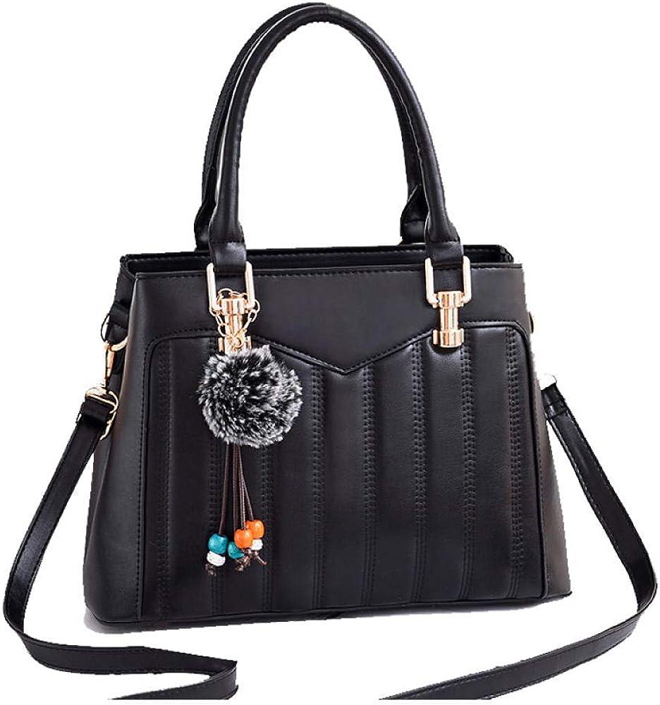 Women Shoulder Handbags Ladies Tote Bags,Elegant PU leather large-capacity shopping handbag gift