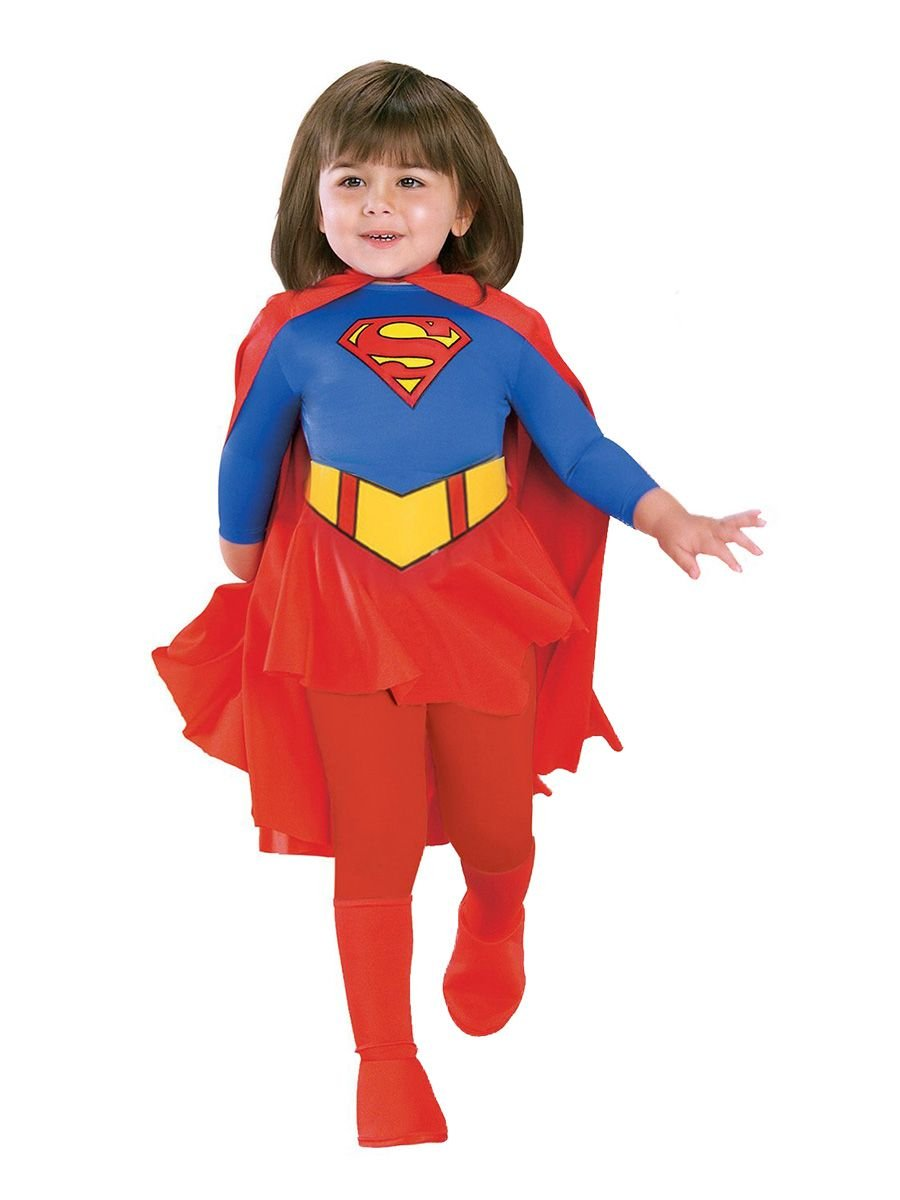 - 61r 1x8roRL - DC Comics Supergirl Toddler/Child Costume – Toddler
