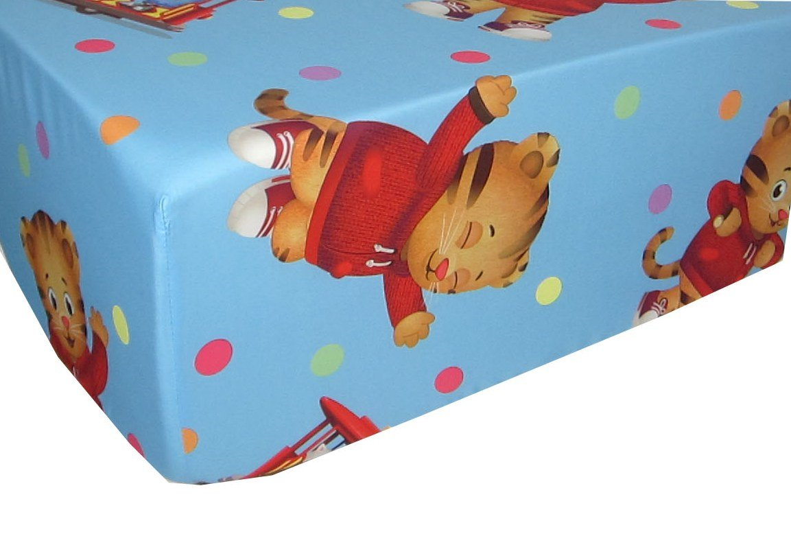 Daniel Tiger's Neighborhood 100% Microfiber (FITTED SHEET ONLY) Size TWIN Girls Kids Bedding