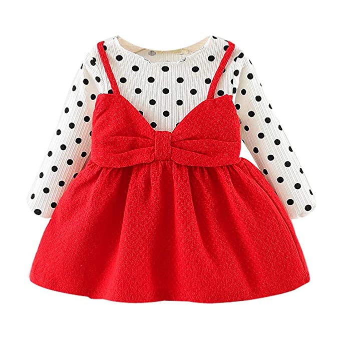 c30339ea627 Amazon.com  Newborn Infant Baby Girl Princess Dresses
