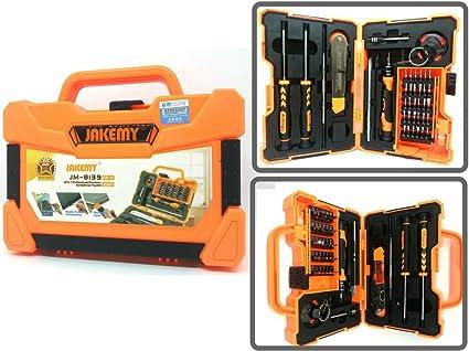 Kit maletín 45 herramientas para reparación Smartphones, PDA ...