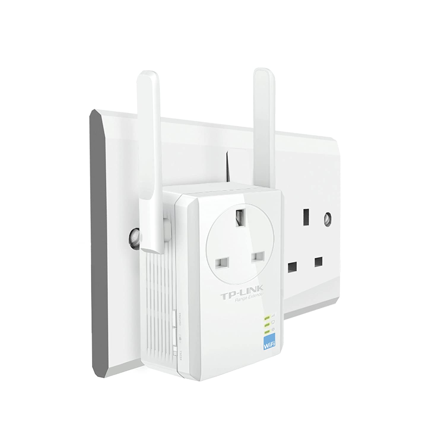 Tp Link Tl Wa860re N300 Universal Range Extender With Extra Power Powerline Adapters An Alternative To Ethernet Cable Wireless Outlet Broadband Wi Fi Booster Hotspot 1 Port And 2