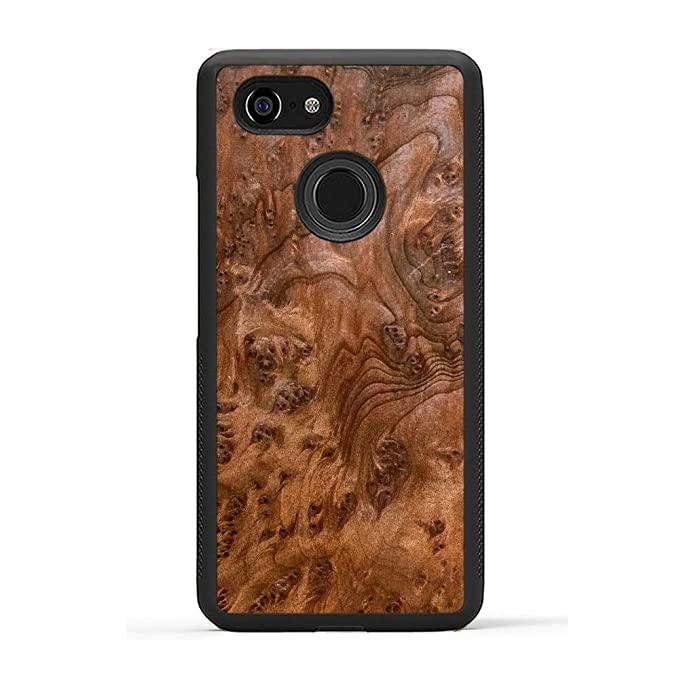 quality design 3e257 ec8a9 Carved - Google Pixel 3 - Luxury Protective Traveler Case - Unique Real  Wooden Phone Cover - Rubber Bumper - Redwood Burl