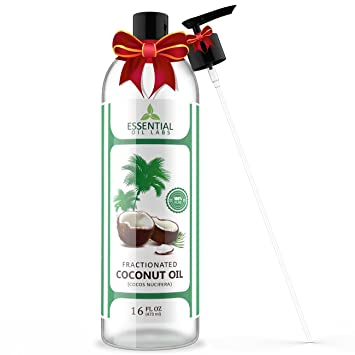 Review Fractionated Coconut Carrier Oil