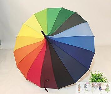 SSBY Palacio de estilo retro color puro larga protección UV PARAGUAS paraguas paraguas pagoda Princesa viento