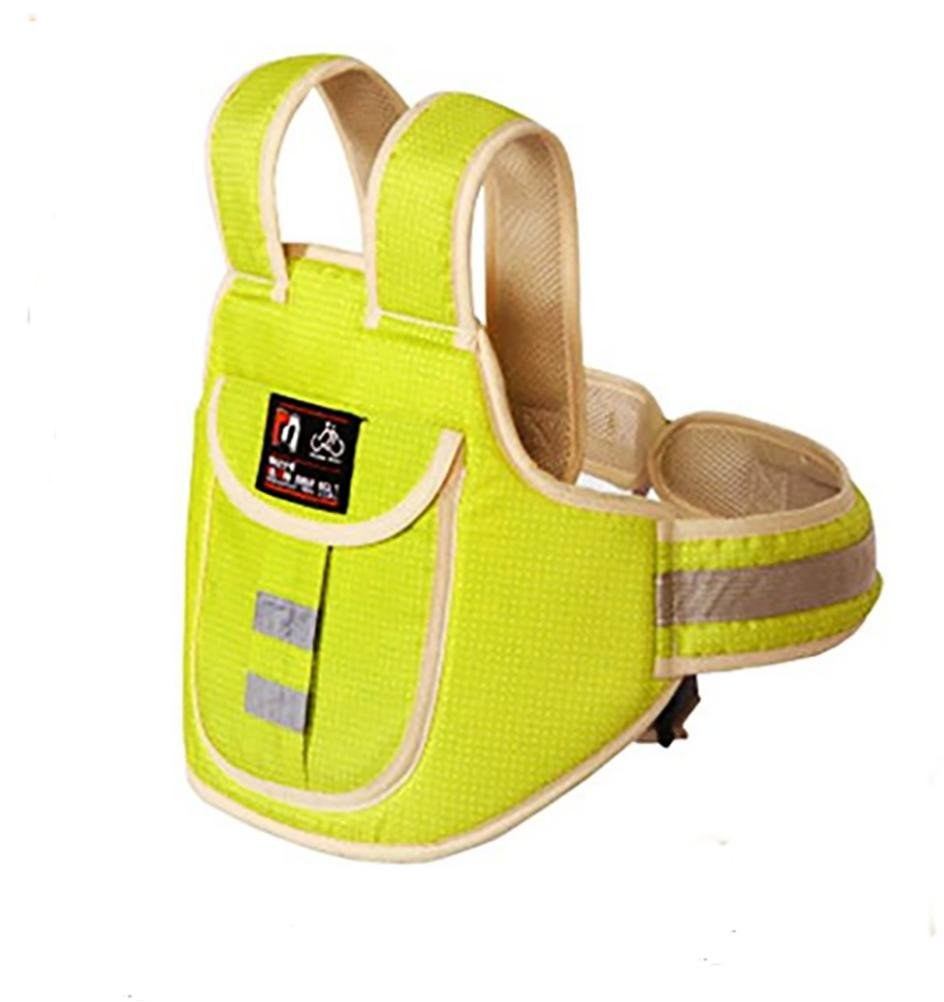 LINWU High Strength Childrens Motorcycle Safety Harness Can be Adjusted, Yellow