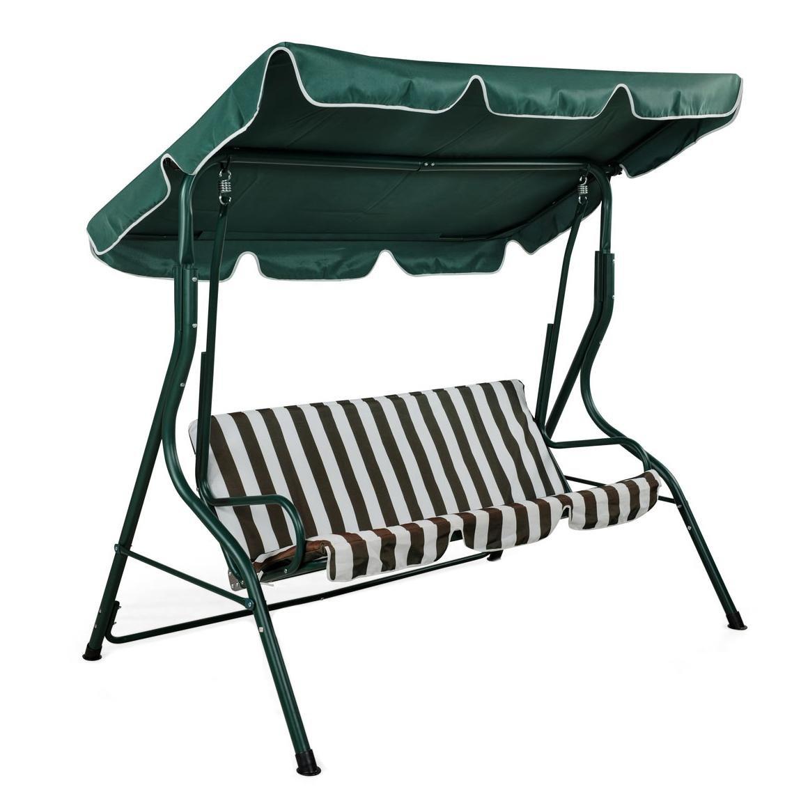 Oypla Luxury Garden Swing Bench Chair Hammock: Amazon.co.uk: Garden U0026  Outdoors Part 76