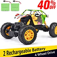 DOUBLE E 1:18 Dual Motors Rechargeable 4WD Off Road RC Truck