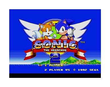 Amazon Com Sonic The Hedgehog 2 Sega Genesis Game Only Video Games