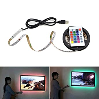 Buy Led Strip Lights Usb Adhesive Backlight Tv Rgb Light Strip Hdtv