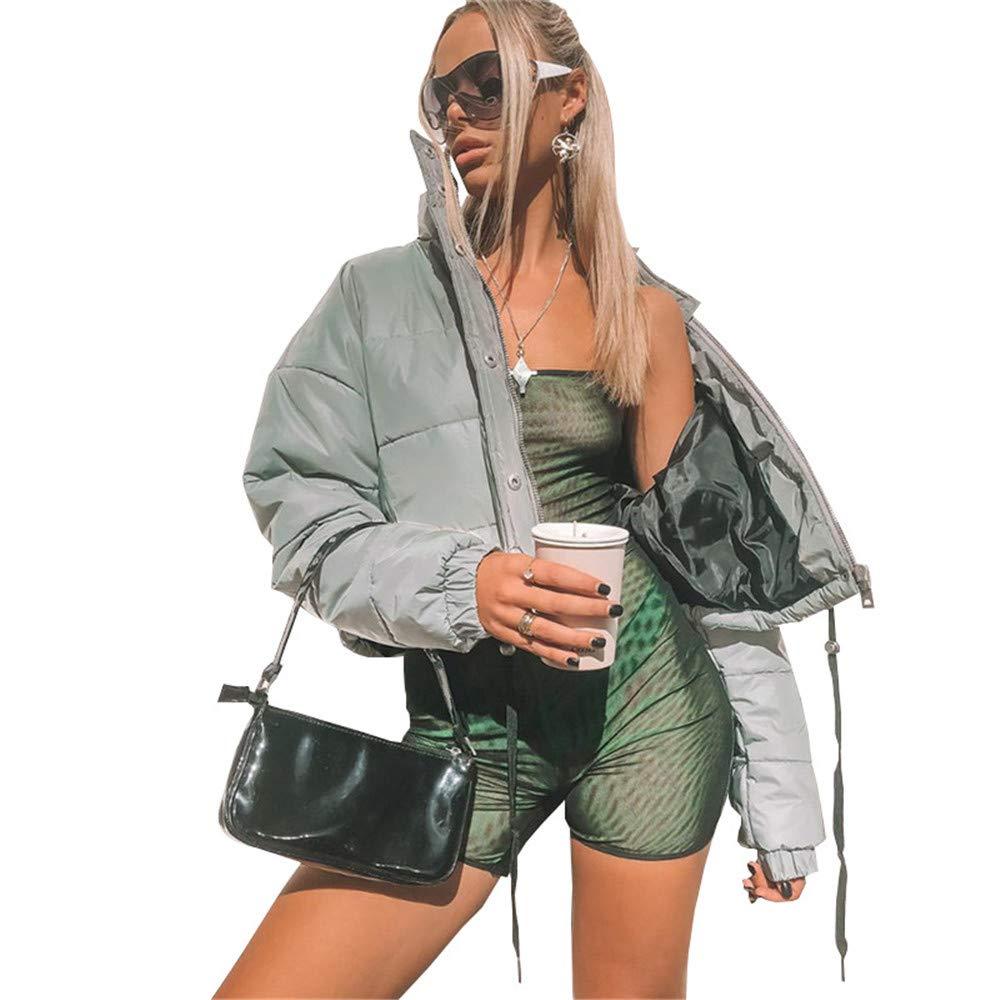 Reflektierende Runing Coat Jacke Womens Hohe Sichtbarkeit Outdoor Sports Reflektierende Jacke f/ür Radfahren Laufen Joggen Reiten Winter Warme Dicke Mantel Outwear L/ässige Hiphop Windbreaker Night Spor