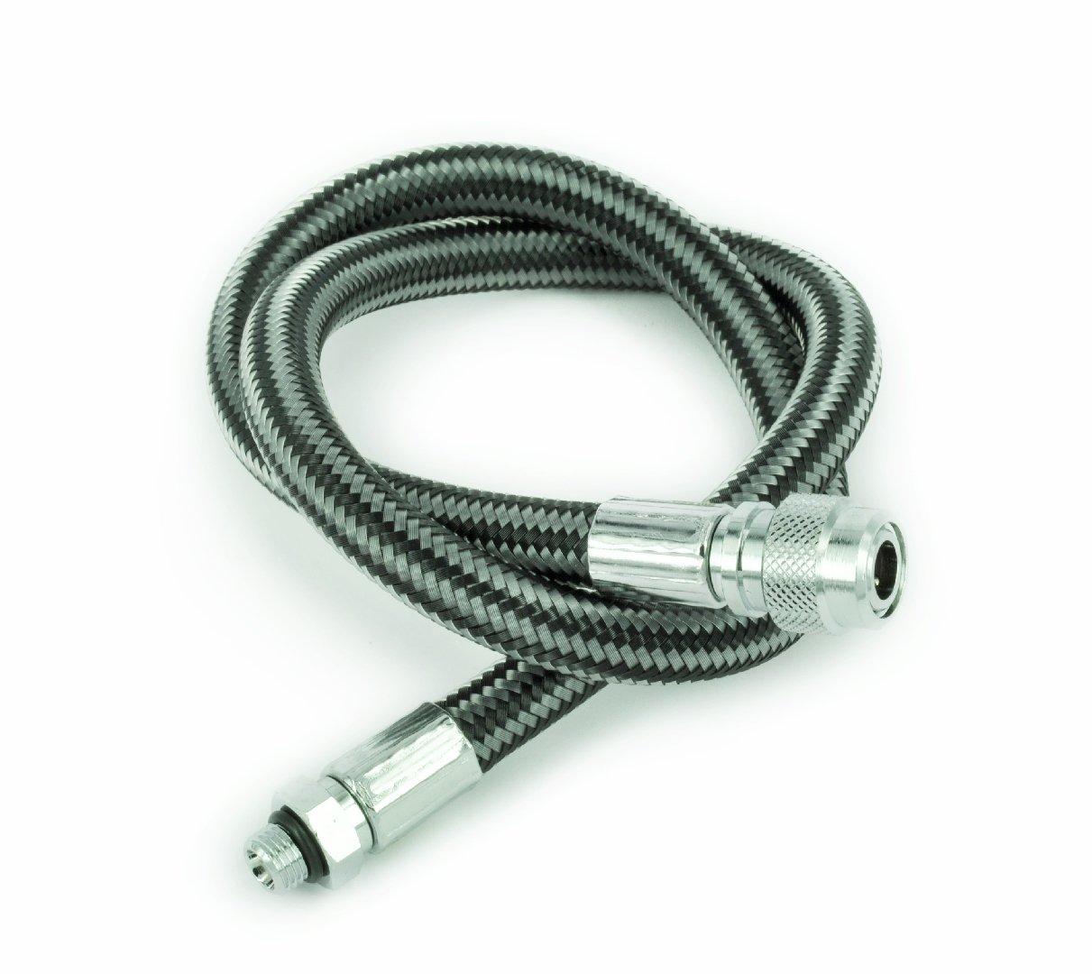 Best divers Miflex Frusta, 70 cm, 3/8 Jacket Xtreme, Carbon AJX0260C