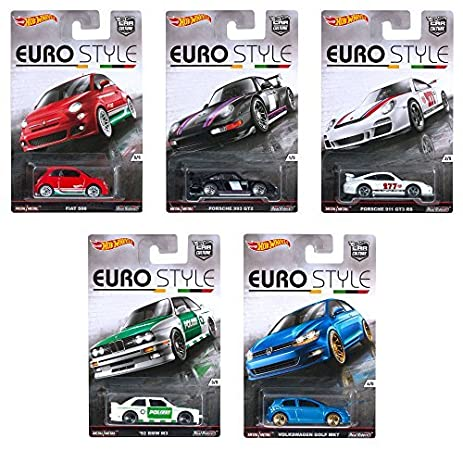 Amazon Com Hot Wheels Car Culture Euro Style Assorted Collection