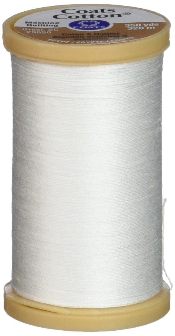 Machine Quilting Cotton Thread 350yd-White