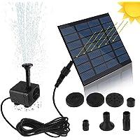 Bomba de Agua Solar en Miniatura, Bomba de Fuente Solar Bomba de Agua Solar Kit de Panel de energía Bomba de Agua de…