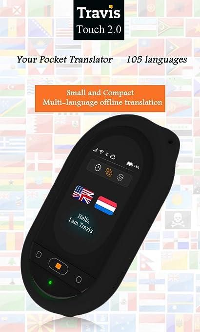 Amazon com: WANGYONGQI Two Way Pocket Translator Voice
