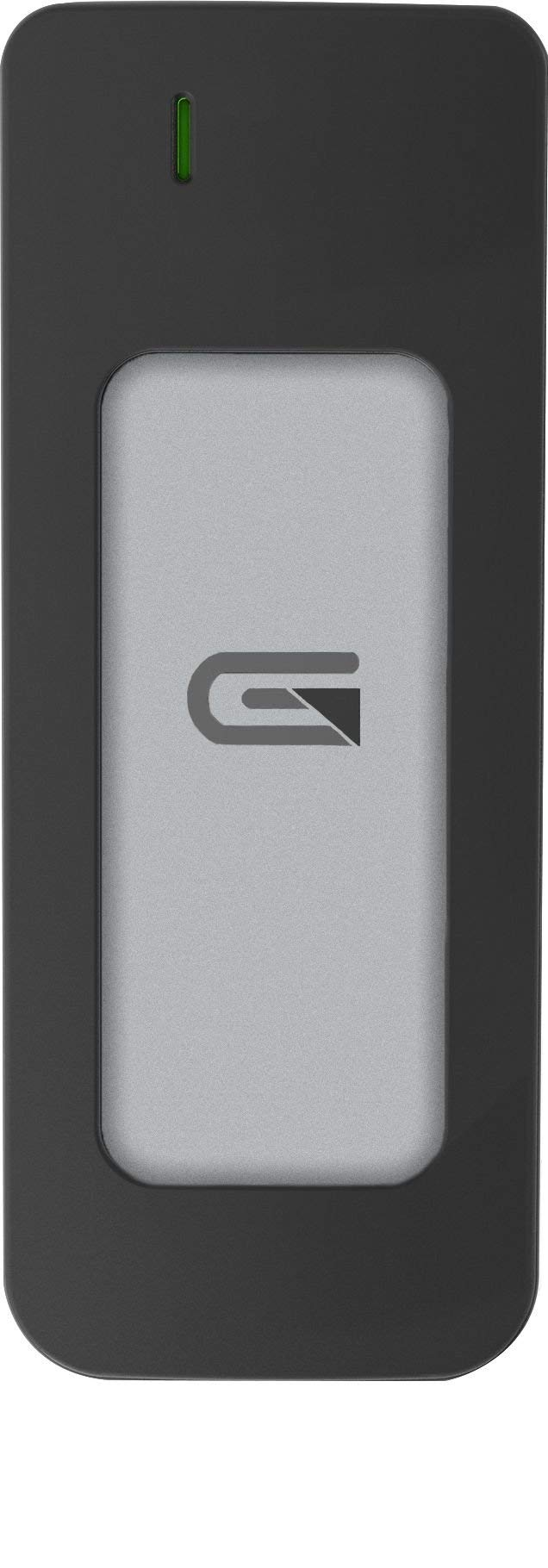 Glyph 1 TB Atom USB 3.1 Type-C External Solid State Drive - Silver by Glyph Production Technologies