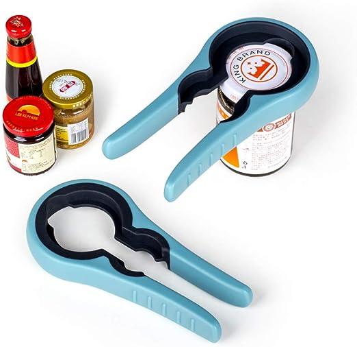 Lid Openers Manual Anti Slip Plastic Jar Bottle Cap Grip Kitchen Tool Gadgets
