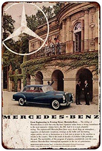 1969-mercedez-benz-vintage-look-reproduction-8x12-metal-sign-8122065
