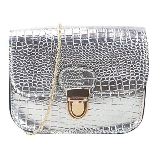 Girls Leather CrossBody Bag Mini Shoulder Bags Fashionable Casual Handbags for Women K by ()