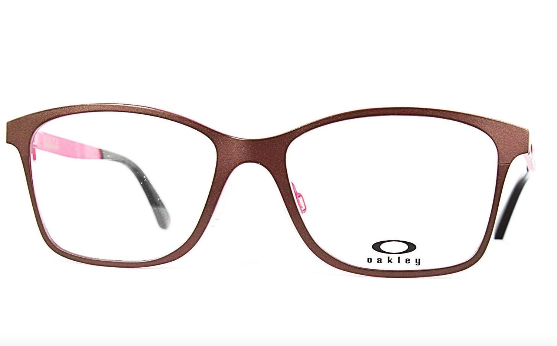 335701591d3 Amazon.com  Oakley Validate OX5097-04 Titanium Eyeglasses Wine Frame 53mm   Clothing
