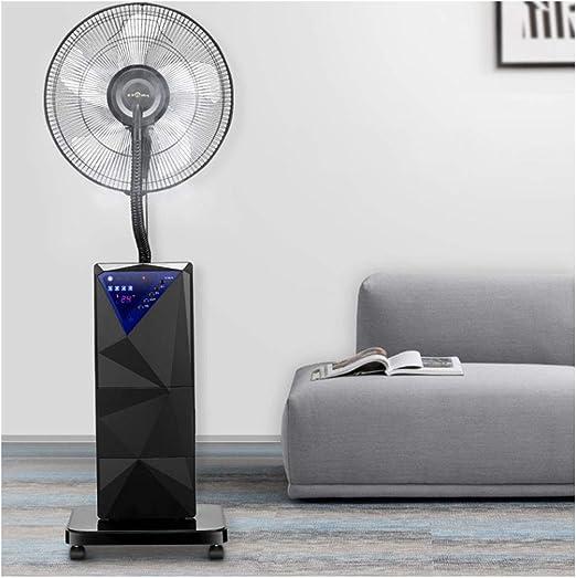 Ventilador de Agua en Spray Ventilador de Torre de Pedestal Comercial Ventilador de enfriamiento con Control Remoto y Pantalla LED Ventilador de Niebla de Interiores Industrial para Interiores de al: Amazon.es: Hogar