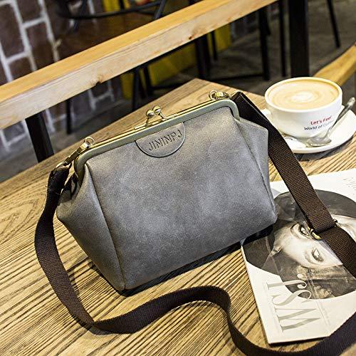 décontracté Clips bandoulière clair ZxxinZ Package à Dumplings à Portable Sacs gris Sac Main tHF8Zqw