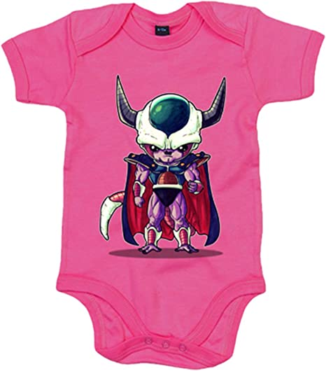 Body bebé Chibi Kawaii King Cold parodia - Rosa, 12-18 meses: Amazon.es: Bebé